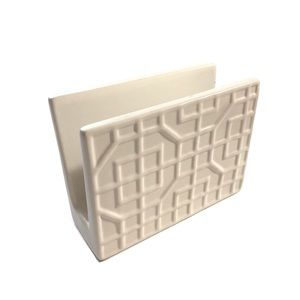 Threshold Stoneware Napkin Holder w/3D Embossment